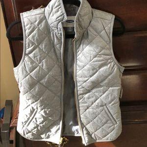 NWT Grey Old Navy Vest